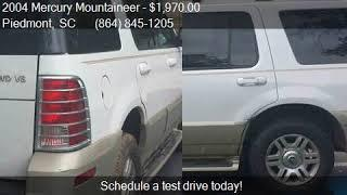 2004 Mercury Mountaineer Base AWD 4dr SUV for sale in Piedmo