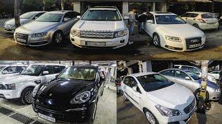 Luxury Cars in 1 Lakhs????| AUDI, BMW, Porsche, Jaguar | DELHI | Tushar 51NGH