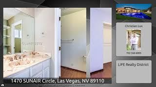 1470 SUNAIR Circle, Las Vegas, NV 89110