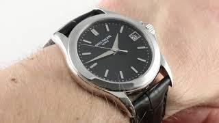 Patek Philippe Calatrava 5107P-001 Luxury Watch Review
