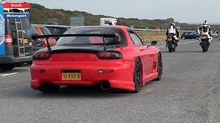Modified Cars Arriving a Car Meet! - RX7, Supra, Huracan, Skyline, Cupra, M5, Lancer Evo,...
