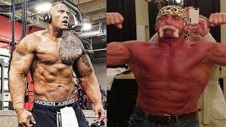 The Rock vs Hulk Hogan Transformation with Age 2019