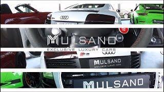 Audi R8 - Mulsano Exclusive Luxury Cars + (Soundcheck)