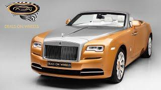 2016 ROLLS ROYCE  DAWN | Deals on Wheels | Dubai | UAE | Luxury cars in UAE