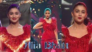 Alia Bhatt Hot Live Stage Dance Performance in LUX Golden Rose Awards 2018 ©️Dzigger ©️