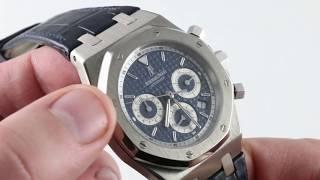 Audemars Piguet Royal Oak Chronograph 26022BC.OO.D028CR.01 Luxury Watch Review