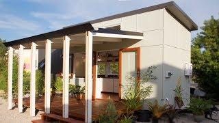Gorgeous Luxury Tiny House Company with Modular Deck in Australia
