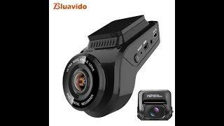 Bluavido 4K Dash Camera 2160P with 1080P Rear Cam Built in GPS tracker WDR Night Vision Novatek96663