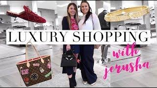 COME LUXURY SHOPPING WITH ME & JERUSHA COUTURE | LV, Gucci, Cartier, Chanel - SHOPPING VLOG