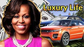 Michelle Obama Luxury Lifestyle | Bio, Family, Net worth, Earning, House, Cars