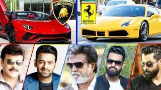 South Indian Superstar Luxurious Cars ⭐ Ft.Rajinikanth, Prabhas , NT Rao ,Vijay ,Pavan ,Nagarjuna ⭐