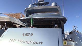 2019 CCN 102 Flying Sport Luxury Yacht - Deck Interior Bridge Walkthrough - 2019 Miami Yacht Show