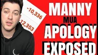 MANNY MUA APOLOGY VIDEO DRAMA