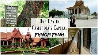 24 Hours in Cambodia's Capital City Phnom Penh | Travel Vlog | Lux Life