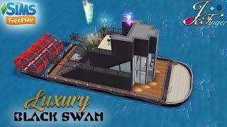 Sims FreePlay ????| LUXURY YACHT - BLACK SWAN |???? By Joy.