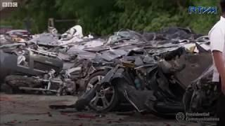 Duterte crushes £4m worth of luxury cars in Philippines   BBC News