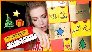 L'OCCITANE x Castelbajac LUXURY ADVENT CALENDAR UNBOXING 2018
