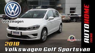 2018 Volkswagen Golf Sportsvan Luxury MPV Full Car Overview