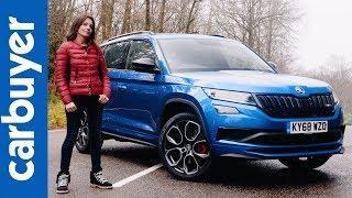 Skoda Kodiaq vRS SUV 2019 in-depth review - Carbuyer