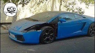 60 Abandoned Supercars and Luxury cars around the World Part.42 - Ferrari Lamborghini Bentley Rolls
