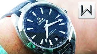 Omega Seamaster Aqua Terra 150m (220.12.41.21.01.001) Luxury Watch Review