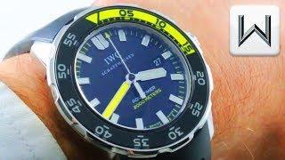 IWC Aquatimer 2000 IW3568-08 3568-08 Luxury Watch Review