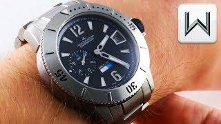 Jaeger-LeCoultre Master Compressor Diving GMT Limited Edition Q187T170 Luxury Watch Review