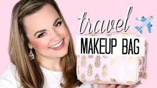 HOW TO PACK MAKEUP FOR TRAVELING...ON A PLANE!  |  Cait B