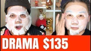 $135 FACE MASK DRAMA