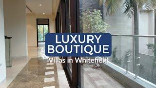 Villas in Whitefield | Luxury 5BHK Villas In Bangalore