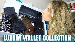 LUXURY WALLET COLLECTION 2018 – LOUIS VUITTON, CHANEL, YSL, GUCCI, BURBERRY