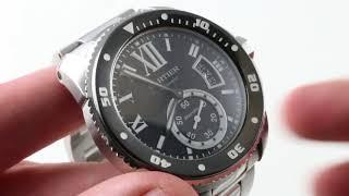 Cartier Calibre de Cartier Diver W7100057 Luxury Watch Reviews
