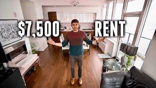 NYC Apartment Tour: $7,500/Month LUXURY APARTMENT