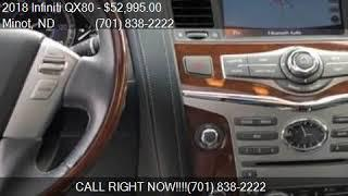 2018 Infiniti QX80 Base AWD 4dr SUV for sale in Minot, ND 58