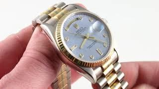 Rolex Tridor Day-Date 18039 Luxury Watch Review