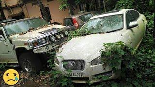 ABANDONED  LUXURY CARS  LEFT TO DIE IN INDIA ||  Exotic luxury  left to DIE || CAR CARE TIPS ||