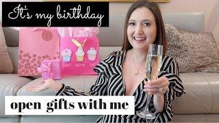 OPEN LUXURY BIRTHDAY GIFTS WITH ME