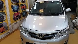 Silver Corolla Altis Got 32 Wax Pro Paint Protection Treatment. For Booking Contact Us At 9810223369