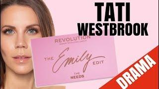 TATI WESTBROOK MAKEUP REVIEW DRAMA