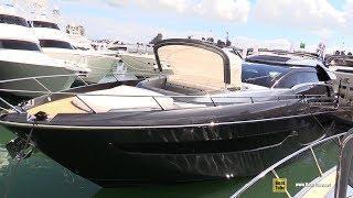 2019 Riva 76 Perseo Luxury Yacht - Interior Deck Bridge Walkthrough - 2019 Miami Yacht Show