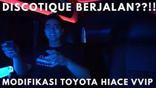 MODIFIKASI TOYOTA HIACE 2018 LUXURY VIP ( BIOSKOP BERJALAN ??!! )
