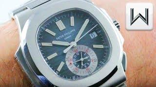 Patek Philippe Nautilus Chronograph 5980/1A-001 Steel Luxury Watch Review