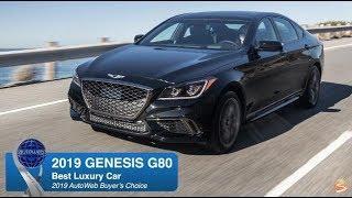 Best Luxury Car: 2019 Genesis G80 - AutoWeb Buyer's Choice Award Winner