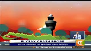 FlySAX crash probe #SundayLive
