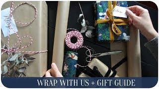 Gift wrapping ideas + Gift Guide ???? | The Life Lab.