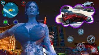 Luxury cars with amazing girls coches de lujo chicas increíbles en Gangstar Vegas