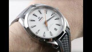 Omega Seamaster Aqua Terra Golf Edition II 220.12.41.21.02.002 Luxury Watch Review