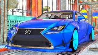 Lexus RC Luxury Coupe Car Wash | Lexus Realistic Car Wash Compilation