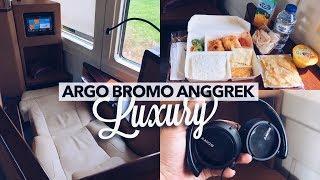 MEWAH! Kereta Argo Bromo Anggrek LUXURY, Semarang - Jakarta Rp Sejutaan!