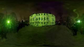 """LUX HELSINKI 2019 """"Shelter Seekers"""" video 360° 8K #alekseigrigorjev #luxhelsinki"""